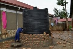 Water Tank with brick wall being builtIMG-20170316-WA0005
